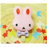 """NY! Cute """"Rabbit"""" Naturlig handgjord tvål 60 gr Pink (0504)"""