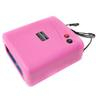 NEW 36w UV Lampa Naglar Pro timer for naglar akryl Pink