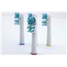 4 st Dual Clean Tandborsthuvud Kompatibla Med Oral B FRI FRAKT