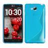 S-Line skal LG Optimus L9 II (D605) (Blå)