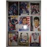 MIKE RICHTER - Lot med 9 olika kort - Målvakt - New York Rangers - USA