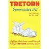 TRETORN Katalog/Prislista Sommarskor 1951 Helsingborg