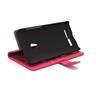 Standcase Wallet Asus Zenfone 5 (Hotpink)