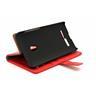 Standcase Wallet Asus Zenfone 5 (Röd)