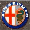Alfa Romeo emaljerad skylt emaljskylt