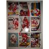 HENRIK ZETTERBERG - Lot med 9 olika kort - Detroit Red Wings - Titanium - OPC