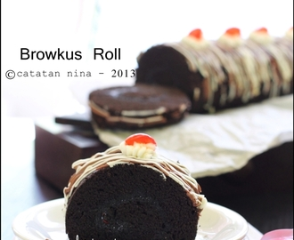 BROWNIES KUKUS ROLL