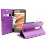 Standcase Wallet Motorola Moto X Force (Lila)