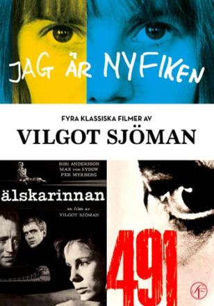 ;Vilgot Sjöman Box - 4 filmer