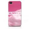 Skal iPhone 4/4S - Summer rosa