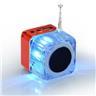 *OrangeStore * Mini Högtalare Micro SD/TF USB-minne Ljudförstärkare MP3 Röd