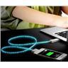 *OrangeStore * Lysande USB/Sync/Laddkabel Kabel for iPhone 4/4S