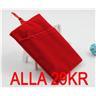 *29KR* Soft Velvet Pouch Case Skal Sleeve För iPhone 4/5/4S/5S Röd