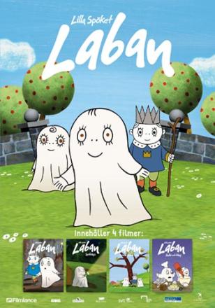 ;Lilla Spöket Laban boxen - 4 filmer