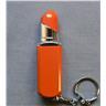 Tändare som läppstift orange med nyckelring