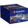Verbatim mini DV kassetter, 5-pack, 60 min SP/90 min LP