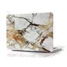 "Marble Cover Skal Macbook Pro 13"" Retina - Marmor Vit/Guld"