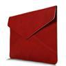 """BGR Kuvertfodral Macbook Air / Pro 13.3"""" med Retinaskärm - Röd"""