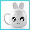 USB Kaffe/Tea Mugg med inbyggd Värmare Vit Rabbit