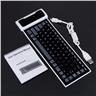 Tangentbord Silikon Roll Up Flexiable Bluetooth Silicone Roll up Keyboard