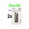 2 st Skärmskydd för Apple iPhone 6 / 6S - Clear
