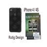 1 st Silikon Case för Apple iPhone 4 / 4S - GRÅ + 2 st Skärmskydd
