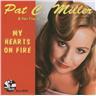 Pat C. Miller & Her Five Aces - My Heart´s On Fire - CD NY - FRI FRAKT