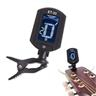 Gitarrstämmare gitarr stämmare Digital Guitar Tuner Turning 360 degree LCD