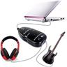 NY!Original Guitar-Link USB länk med uttag for hörlurar Svart