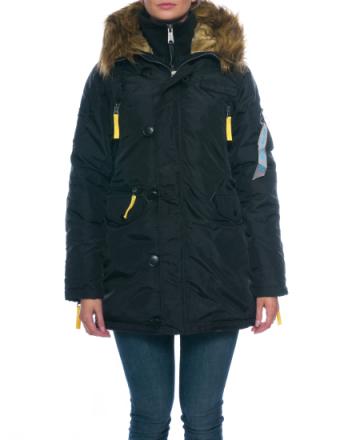 PPS N3B Wmn black jacket