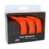 Abu Garcia Tails McHybrid 3-Pack Fluo Orange