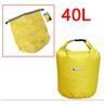 NY!40L Vattentät Packpåse för Kanot Kajak Rafting Camping Gul