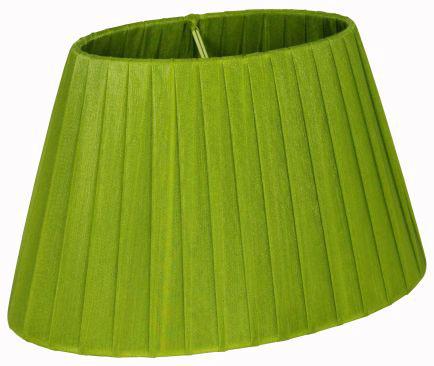 Oriva Lampskärm Organza Oval 22 cm Grön