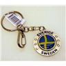 Nyckelring spinnare Sverige flagga