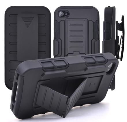 """iPhone 6/6S - Praktiskt Skyddsfodral """"ROCK"""" från LEMAN"""