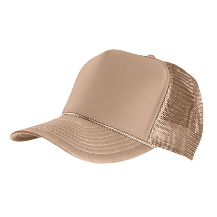 MasterDis Special Baseball Cap Trucker high profile Men Trucker Cap khaki
