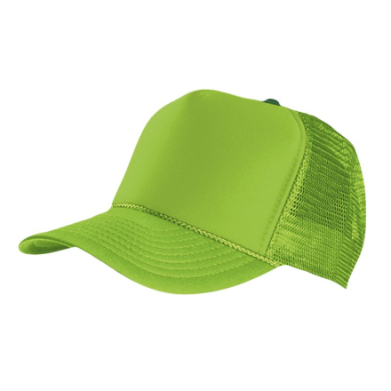 MasterDis Special Baseball Cap Trucker high profile Men Trucker Cap Green Craquelure
