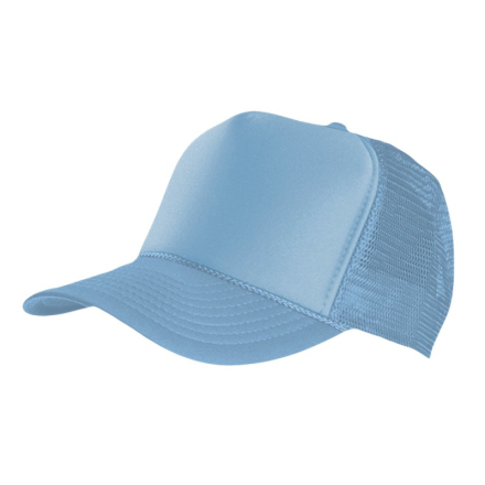 MasterDis Special Baseball Cap Trucker high profile Men Trucker Cap Sky Blue
