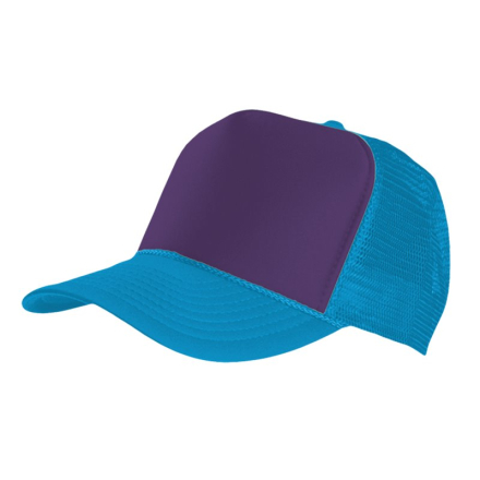 MasterDis Special Baseball Cap Trucker high profile Men Trucker Cap turquoise purple