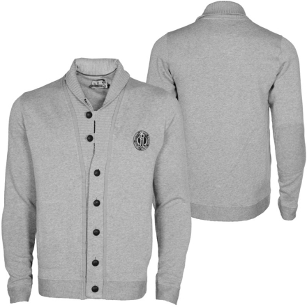Japan Rags Richmond Men Cardigan gray