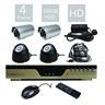 Entry-Level H.264 4 Kanals Allt-i-Ett DVR Ing?ngs-Kit (med en 500GB H?rddisk)