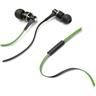 CellularLine Audiopro Mosquito in-ear hörsnäckor, mic, 1,3m kabel,grön