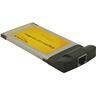 DeLOCK CardBus 32-bit, nätverkskort, 10/100/1000Mbps, RJ45