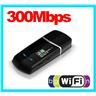 New! 300 Mbps USB Adapter Wlan WiFi for PC Dator Laptop