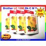 Bläckpatron Brother LC 1280 BK,C,M,Y mfc J5910DW J6510DW J6710DW J6910DW 99:-