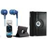 iPad Air fodral Roterbar 360° OCH Panasonic hörlurar