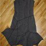 NY unik klänning str S annorlunda modell boho hippy