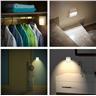 4x LED nattrörelsesensor automatisk vägglampa barn baby säkerhet batteri
