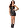 Skinn klänning från Jofama by Kenza! Storlek 34