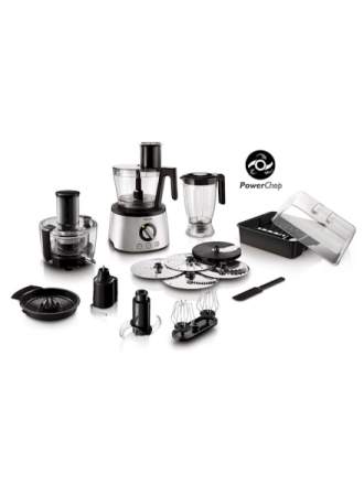 Foodprocessor Avance Collection HR7778 Compact 2 in 1